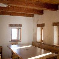 Interni della Malga Le Prese - Parco Dolomiti Bellunesi