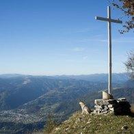 La Croce di Naroen, che domina Sovramonte.