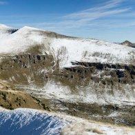 Il Pavione visto dalla vicina cima della Vallazza
