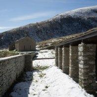 Le stalle e la malga Monsampiano - Parco delle Dolomiti Bellunesi