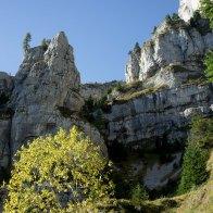 Scendendo verso Aune da Malga Monsampiano - Parco delle Dolomiti Bellunesi