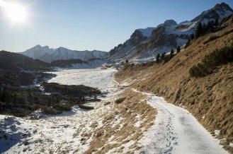 Piani Eterni, sentiero 802 da Malga Erera verso forcella Pelse - Parco Nazionale Dolomiti Bellunesi