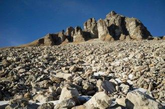 Pietraia alla base del Monte Mondo- Parco Nazionale Dolomiti Bellunesi
