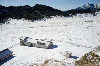 Malga Erera e Casera Brendol sui Piani Eterni - Parco Nazionale Dolomiti Bellunesi
