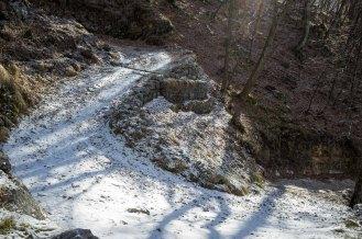 Tornanti sul sentiero 802 - Parco Nazionale Dolomiti Bellunesi