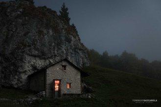 Notte a Malga Ramezza Alta - Parco nazionale Dolomiti Bellunesi