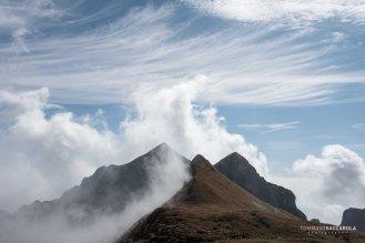 Vette piccole e Monte Pietena viste dal sentiero 801 - Alta via delle Dolomiti n° 2 - Parco nazionale Dolomiti Bellunesi