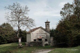 Chiesetta di San Martino, nell'omonima Valle - Parco nazionale Dolomiti Bellunesi
