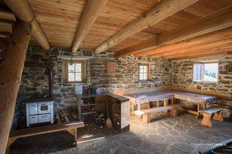 La casera ai Doff, interno, piano terra