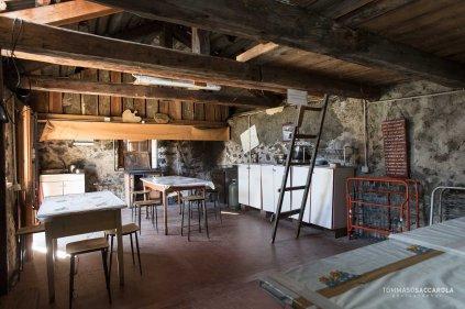 Casera Campigat, interno